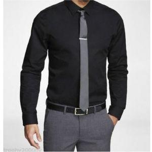 Express Extra Slim Solid Stretch 1MX Shirt SZ L